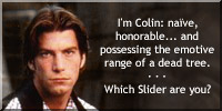 I'm Colin. Which Slider are you?